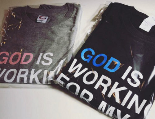Tシャツ GOD IS WORKING FOR MY GOOD